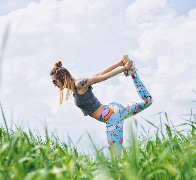 Yoga y posturas de equilibrio